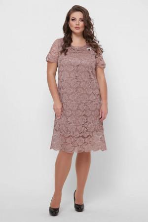 Платье «Элен» цвета бронзы