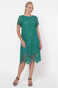 Сукня «Елен» смарагдового кольору