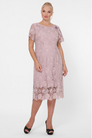 Платье «Элен» светло-бежевого цвета