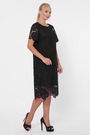 Платье «Элен» черного цвета