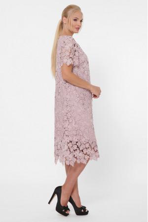 Платье «Элен» бежевого цвета