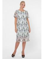 Сукня «Елен-макраме» сірого кольору