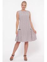 Сукня «Настасья» кольору пудри