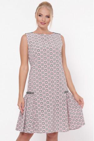Платье «Настасья» цвета пудры
