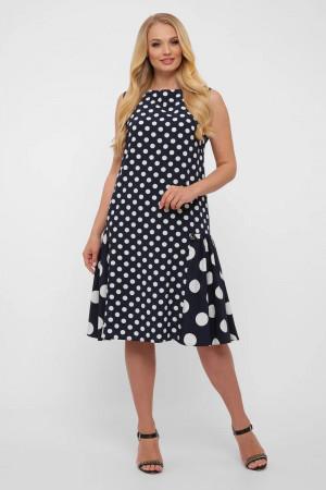 Сукня «Настасья» темно-синього кольору