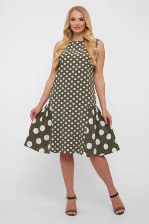 Сукня «Настасья» оливкового кольору