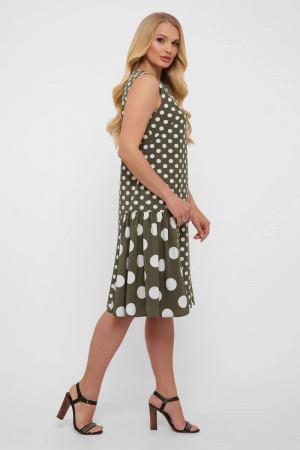 Платье «Настасья» оливкового цвета