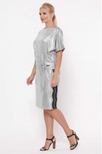 Костюм «Катаріна» сріблястого кольору