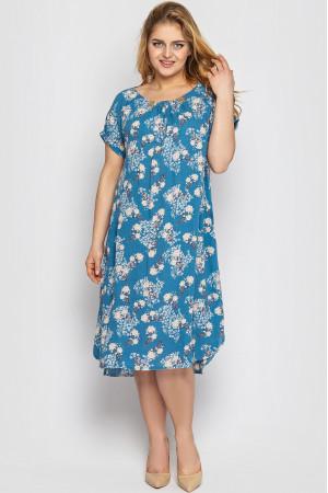 Сукня «Палітра» блакитного кольору