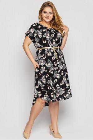 Сукня «Палітра» чорного кольору