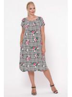 Платье «Палитра» в клетку