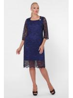 Сукня «Елен-каре» синього кольору