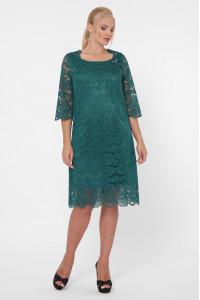 Платье «Элен-каре» изумрудного цвета