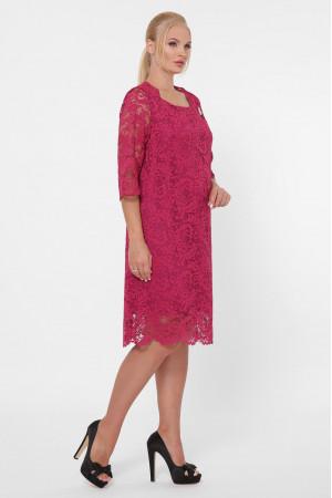 Платье «Элен-каре» цвета марсала
