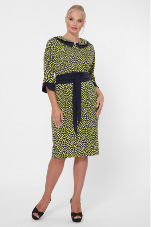 Платье «Натали» горчичного цвета