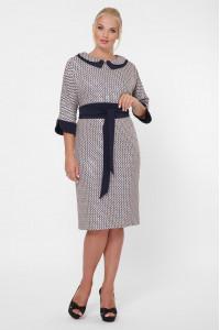 Платье «Натали» цвета пудры