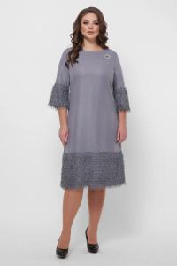 Сукня «Тереза» сріблястого кольору