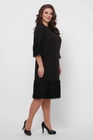 Платье «Тереза» черного цвета