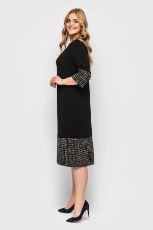 Сукня «Тереза-букле» чорного кольору