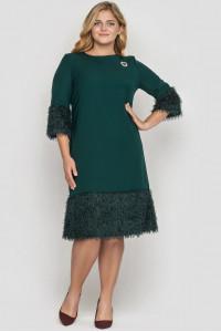 Сукня «Тереза» смарагдового кольору
