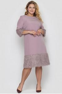 Сукня «Тереза» кольору пудри