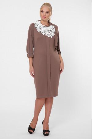 Сукня «Еліза» шоколадного кольору