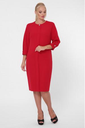 Платье «Элиза» бордового цвета