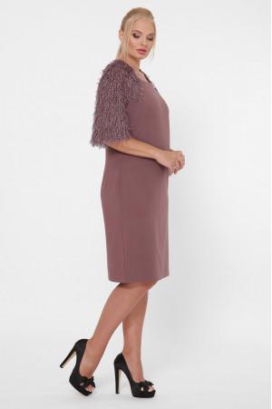 Сукня «Джаз» шоколадного кольору