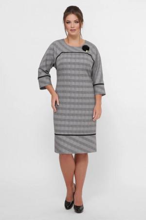 Платье «Кантата» серого цвета