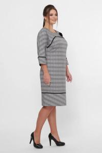 Сукня «Кантата» сірого кольору