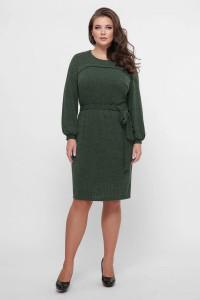 Платье «Эмили» зеленого цвета
