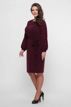 Сукня «Емілі» кольору марсала