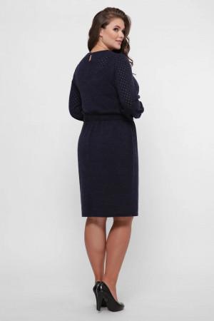 Платье «Эмили» синего цвета