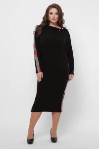 Платье «Кристи» черного цвета