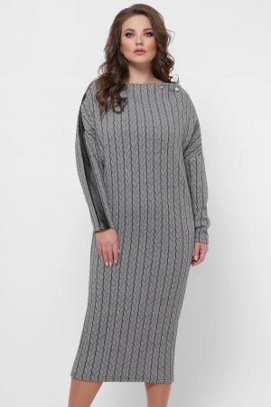 Сукня «Крісті» з візерунком-косами