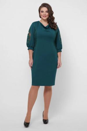 Сукня «Сандра» смарагдового кольору