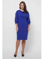 Сукня «Сандра» кольору електрик