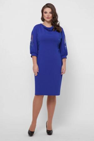 Платье «Сандра» цвета электрик