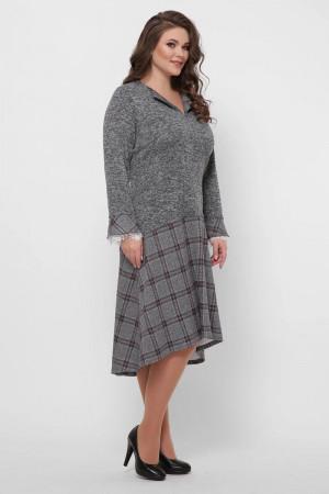 Сукня «Медея-ангора» сірого кольору