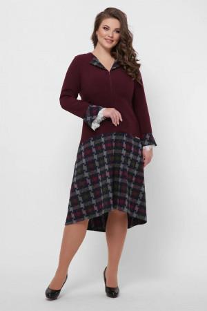 Сукня «Медея» кольору бордо