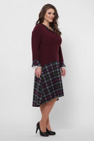 Платье «Медея» цвета бордо
