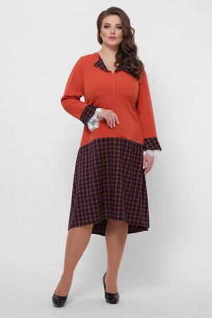 Платье «Медея» оранжевого цвета