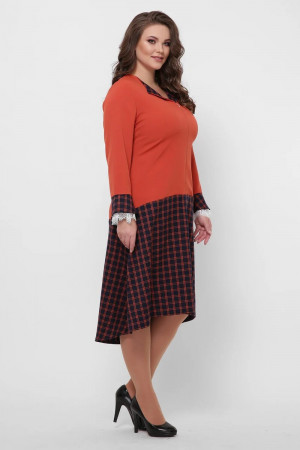 Сукня «Медея» помаранчевого кольору