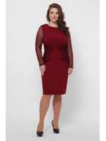 Сукня «Дженіфер» кольору бордо