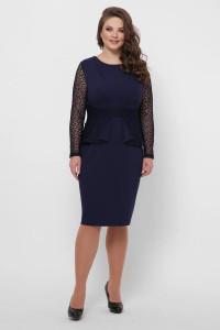 Сукня «Дженіфер» синього кольору