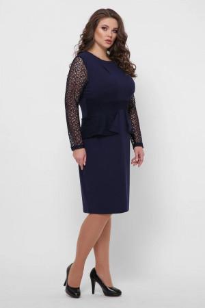 Платье «Дженифер» синего цвета