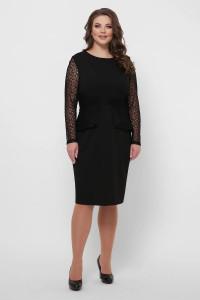 Платье «Дженифер» черного цвета