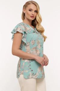 Блуза «Альбина» цвета мяты