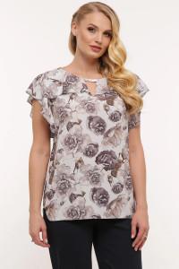 Блуза «Альбіна» курного кольору