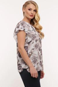 Блуза «Альбина» пепельного цвета